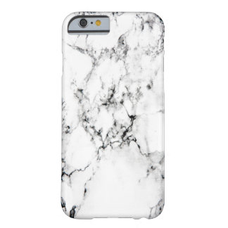 Marble texture barely there iPhone 6 case