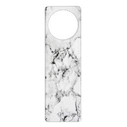 Marble texture door hanger