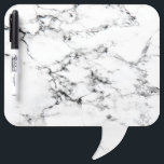 "Marble texture Dry-Erase board<br><div class=""desc"">Black and white marble looking pattern. Photography.</div>"