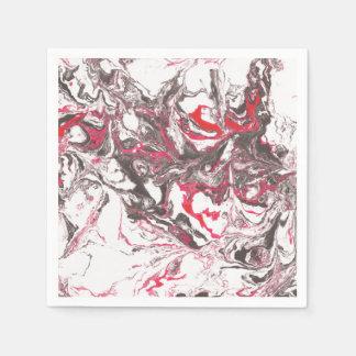 Marble texture. Hand drawn artwork Paper Napkin