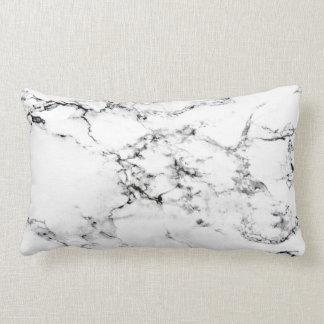 Marble texture lumbar pillow