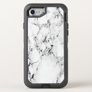 Marble texture OtterBox defender iPhone 7 case