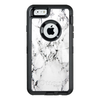 Marble texture OtterBox defender iPhone case