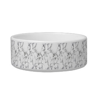 Marble texture pet water bowl
