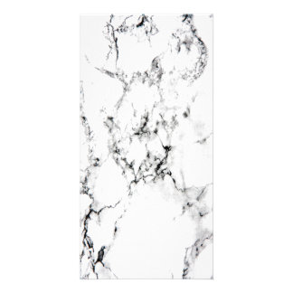 Marble texture photo card