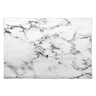 Marble texture placemat