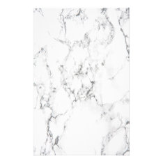 Marble Texture Stationery at Zazzle