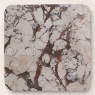 Marble Texture Stone Image Drink Coaster