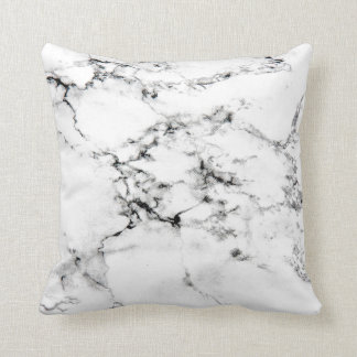 Marble texture throw pillow