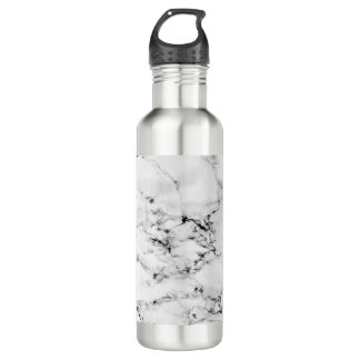 Marble texture water bottle