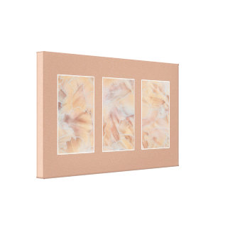 Marble Triptych Gallery Wrapped Canvas