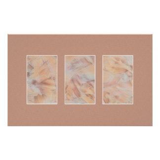 Marble Triptych Print