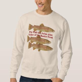 Marble Trout of Slovenia Sweatshirt