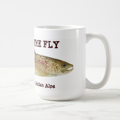 Marble Trout of the Julian Alps- Wild on the Fly Coffee Mug | Zazzle