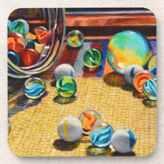 Marble Tumble Beverage Coaster