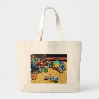 Marble Tumble Large Tote Bag