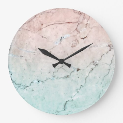 Marble watch large clock