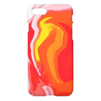 Marbled 17 Custom iPhone 7 Glossy Case