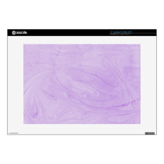 Marbled Abstract Design | Purple Decals For Laptops