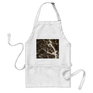 Marbled-Abstract Expressionism by Shirley Taylor Adult Apron