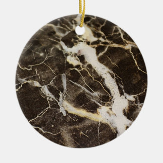 Marbled-Abstract Expressionism by Shirley Taylor Ceramic Ornament