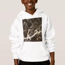 Marbled-Abstract Expressionism by Shirley Taylor Hoodie