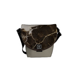 Marbled-Abstract Expressionism by Shirley Taylor Messenger Bag