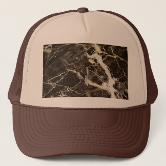Marbled-Abstract Expressionism by Shirley Taylor Trucker Hat