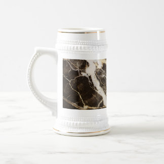Marbled-Abstract Expressionism 18 Oz Beer Stein