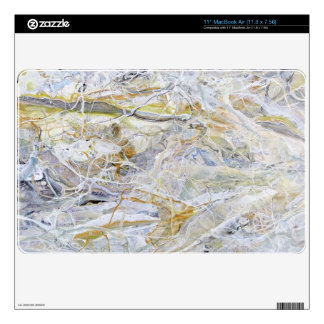 """Marbled Abstract 11"""" MacBook Air Skin"""