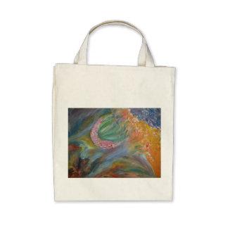 Marbled acrylic field dream bag