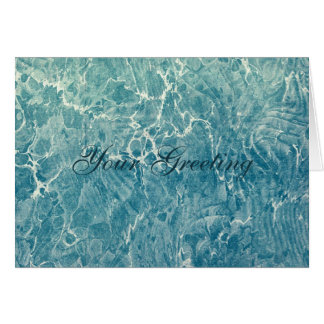 Marbled Blue Card