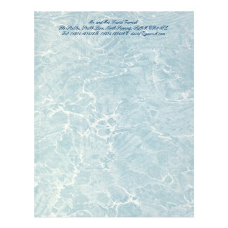 Marbled Blue Letterhead