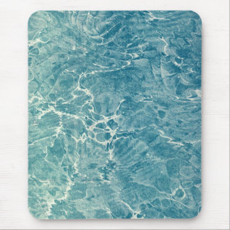 Marbled Blue Mouse Pad