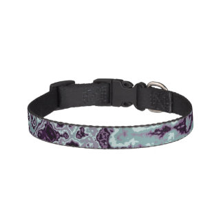 Marbled Blue Pet Collar
