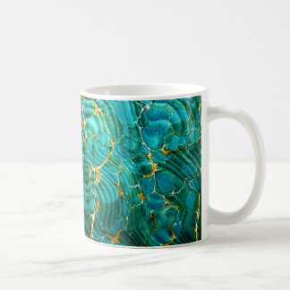 Marbled Book Endpapers Coffee Mug | Bibliophile