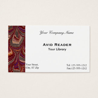 Marbled Business Card 1