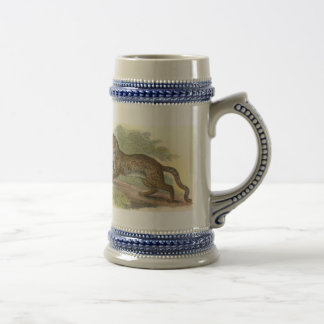 Marbled Cat, Felis marmorata Beer Stein