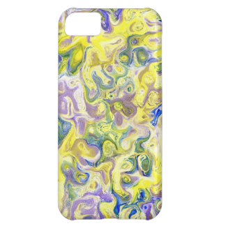 Marbled Colors iPhone 5C Cover