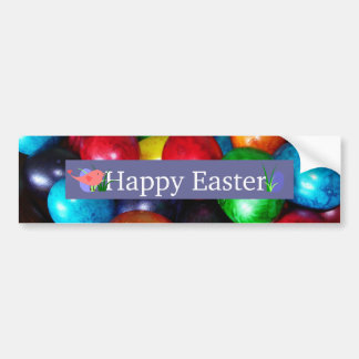 Marbled Easter Eggs Bumper Sticker