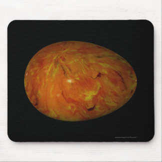 """""""Marbled Egg of Gold and Copper"""" Mouse Pad"""