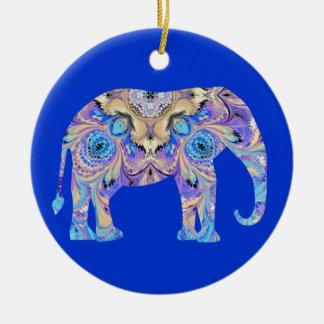 Marbled Elephant Ornament