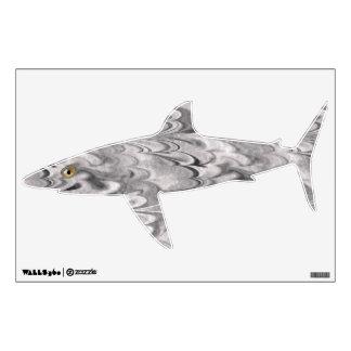 Marbled Flat Fish - Shark Wall Sticker