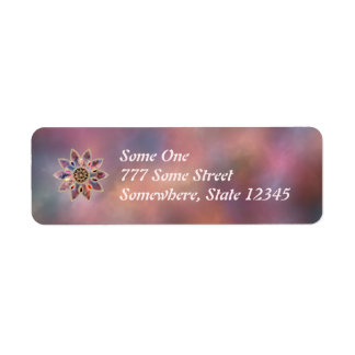Marbled Galaxies Address Labels