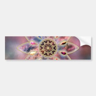 Marbled Galaxies Bumper Sticker