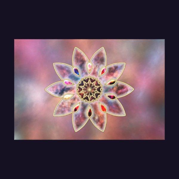 Marbled Galaxies Canvas Print