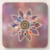 Marbled Galaxies Cork Coaster