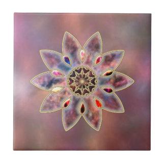 Marbled Galaxies Decorative Tile / Trivet