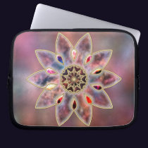 Marbled Galaxies Laptop Sleeve