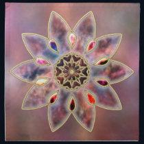 Marbled Galaxies Napkin